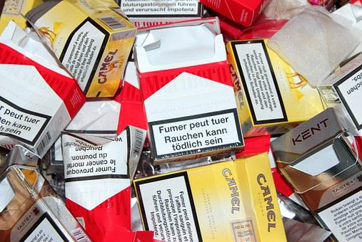Cigarette Box, Empty, Unhealthy, Smoking, Nicotine