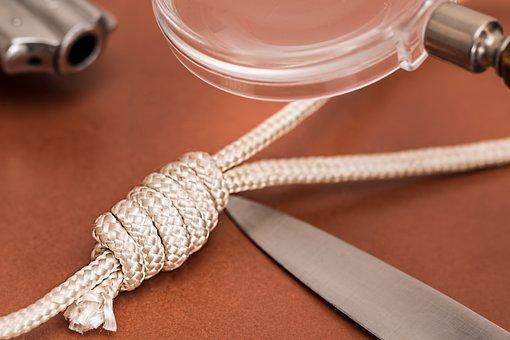 Detective, Crime Scene, Dagger, Knife, Hangman's Noose