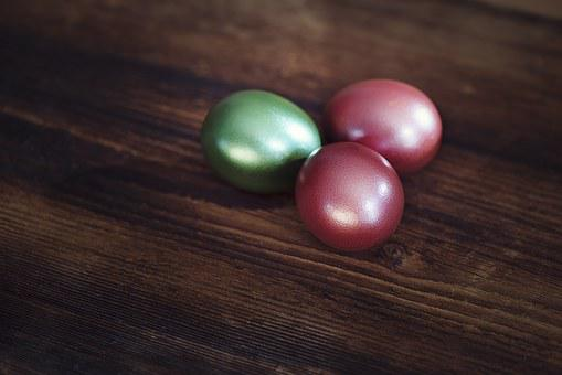 Egg, Colored, Colorful, Chicken Eggs, Dyed Eggs
