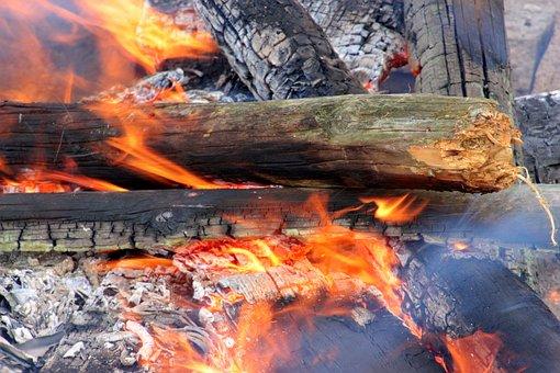Wood, Fire, Flame, Embers, Burn, Heat, Fireplace
