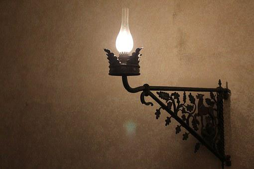 Light, Lamp, Castle, Electricity, Bright, Energy