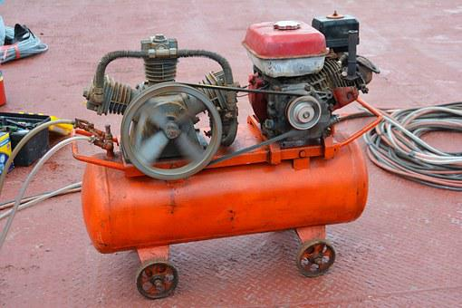 Generator, Compressor, Equipment, Pressure, Machine
