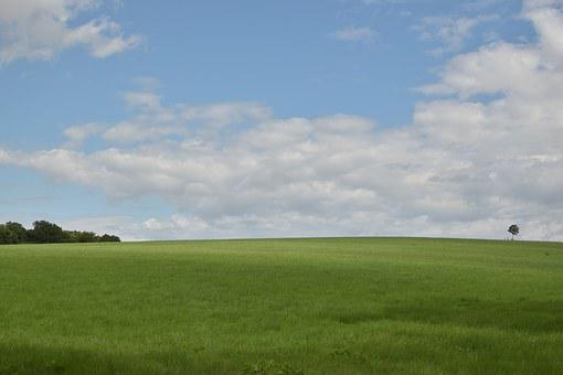 Landscape, Meadow, Sky, Clouds, Background, Desktop