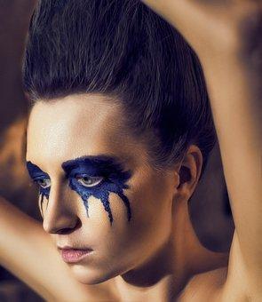 Halloween, Daemon, Mejk, Model, Girl, Succubus, Lips
