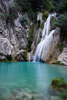 Waterfall, Nature, Water, Landscape, Natural, Forest