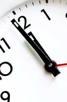 Clock, Time, Pointers, Numbers, New Year