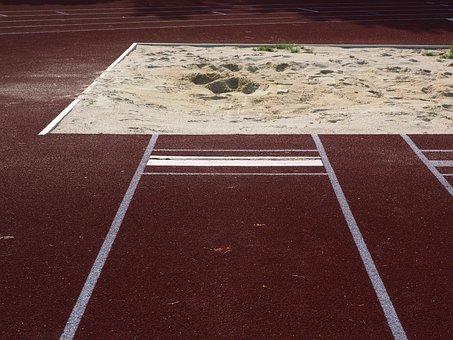 Long Jump, Pit, Sand, Mark, Athletics, Sports Ground