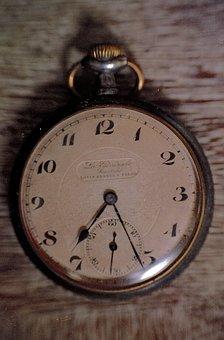 Pocket Watch, Clockwork, Pocket, Retro, Old, Watch