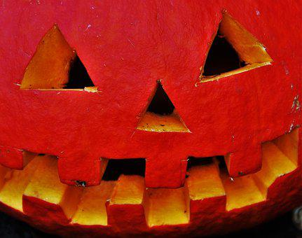 Pumpkin Head, Halloween, Thanksgiving, Decoration