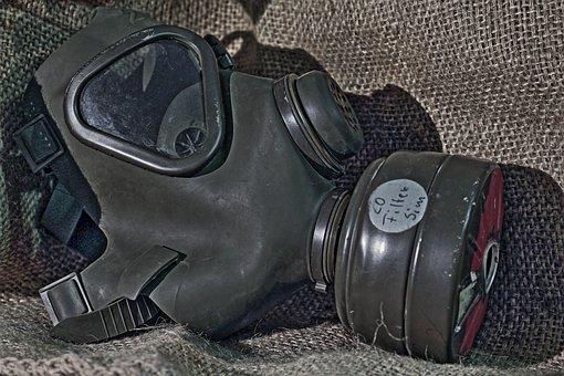 Gas Mask, Respiratory Mask, Gift, Breath, Poison Gas