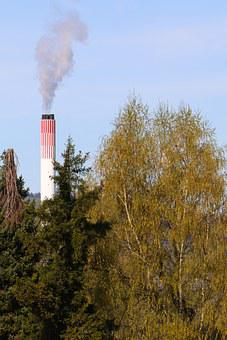 Environment, Chimney, Exhaust, Smoke, Steam, Emissions