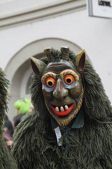 Spirit, Daemon, Green, Strassenfasnet, Fools Jump