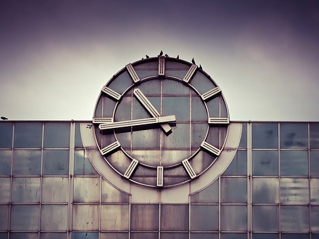 Clock, Railway Station, Station Clock, Time