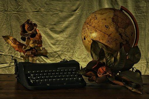 To Write, World, Desk, Trip