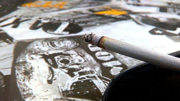 Cigarette, Ashtray, Smoking, Smoke, Nicotine, Tobacco