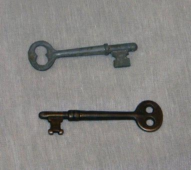 Keys, Skeleton, Antique, Metal, Old, Unlock, Vintage