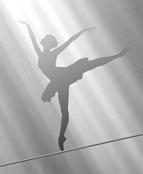 Light, Shadow, Rays, Ballerina, Dancer, Dance, Woman