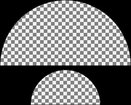 Semicircle, Half Circle, Half-Circle