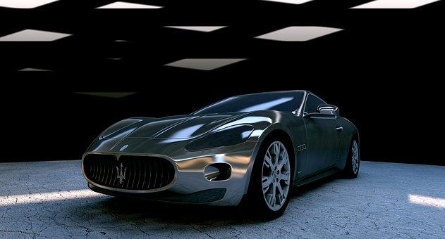 Maserati, Maserati Gt, Monochrome