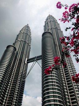 Kuala Lumpur, Malaysia, Skyscraper, Petronas, Building