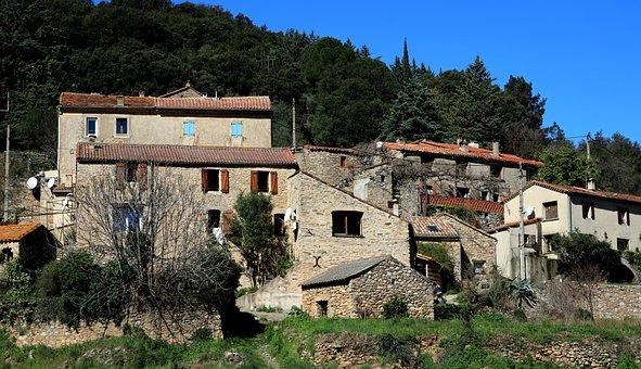Architecture, Village, France, South