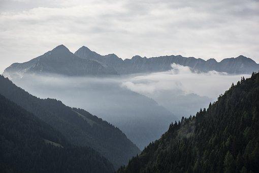Val Brembana, Italy, Bergamo, Lombardy, Nature, Clouds