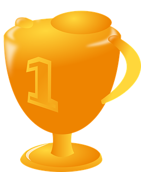 Cup, Winner, Sports, Trophy, Prize, Golden, Award