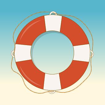 Lifeguard, Lifebuoy, Aid, Beach, Device, Flotation