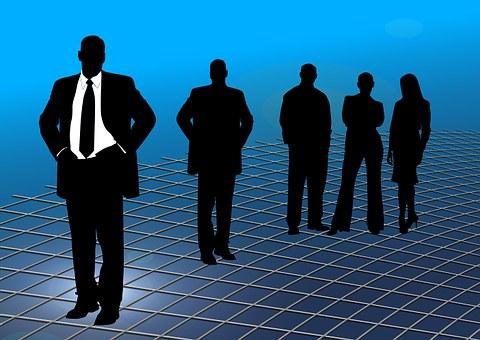 Businessmen, Grid, Web, Braid, Pattern, Texture