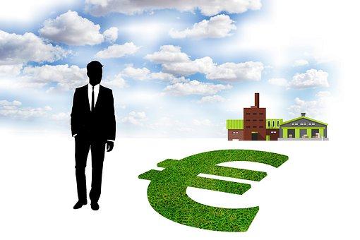 Green, Business, Ecology, Money, Euro, Symbol