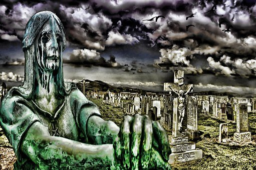 Graveyard, Cemetery, Death, Grave, Funeral, Tomb