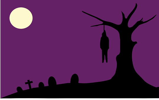 Hanging, Lynch, Lynching, Graveyard, Halloween