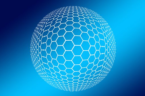Hexagon, Honeycomb, Icon, Networks, Internet, Social