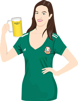 Mexican, Mexico, Beer, Celebration, Football, Soccer
