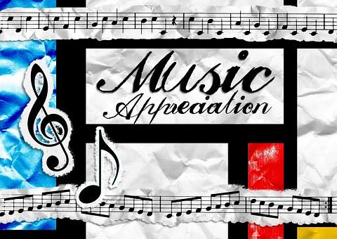 Music, Appreciation, Poster, Education, School, Class