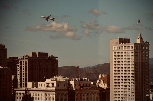 San Francisco, Airplane, Fleet Week, Flying, Aircraft