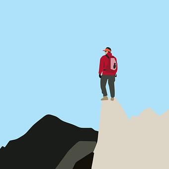 Adventure, Climbing, Mountain, Man, Sport, Strong