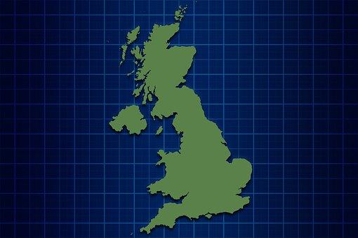 United Kingdom, Map, Uk, England, Wales, Scotland