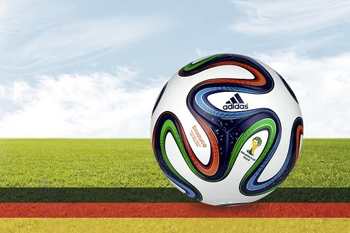 Football, Ball, Football Match, Sport, Flag, Germany