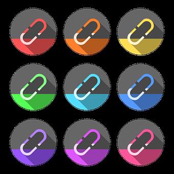 Hyperlink, Paper Clip, Links, Hyperlink Logo