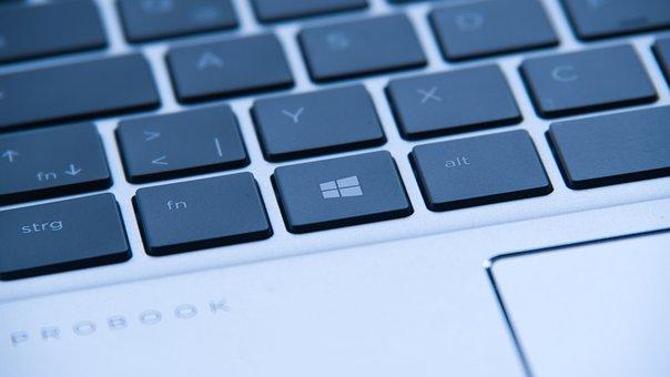 Keyboard, Notebook, Touchpad, Laptop