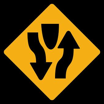 Oncoming Traffic, Opposing Traffic, Two-way Traffic