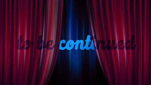 To Be Continued, Curtain, Theater, Cinema