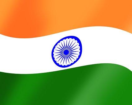 India Flag Twirl, Indian Flag, Flag, Tricolor Flag