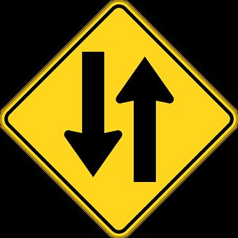 Two-way Traffic, Two-way Road, Opposing Traffic