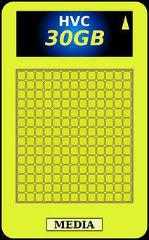 Holographic, Card, Versatile, Media, Hvc, Storage, 30gb