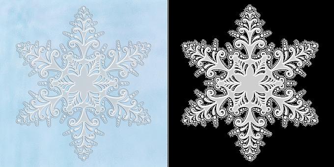 Snowflake, Snow, Winter, Cold, White