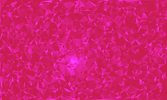 Tri, Trianle, Triangle, Tri Color, Art, Backround, Pink