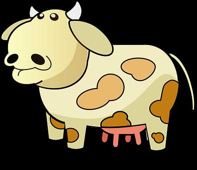 Cow, Dairy, Farm, Udders, Cattle, Milk