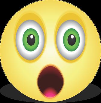 Graphic, Smiley, Emoji, Emoticon, Shock, Flying, Scared
